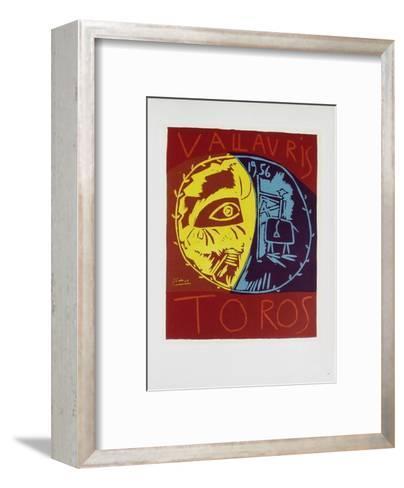 AF 1956 - Toros en Vallauris-Pablo Picasso-Framed Art Print