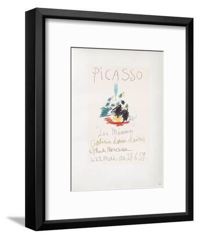 AF 1959 - Les Ménines-Pablo Picasso-Framed Art Print