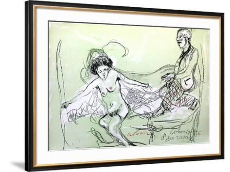 Chronique D'Un Voyeur II-Serge Kantorowicz-Framed Art Print