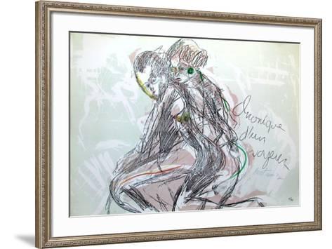Chronique D'Un Voyeur III-Serge Kantorowicz-Framed Art Print