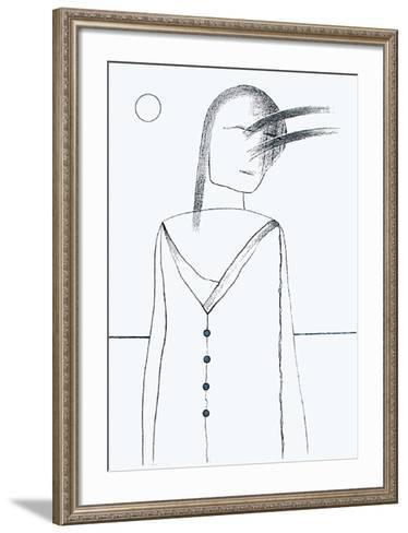 Fillette (1er ?tat)-Uno George Svensson-Framed Art Print