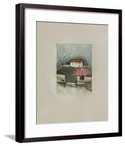 La Maison Des Champs-Annapia Antonini-Framed Art Print