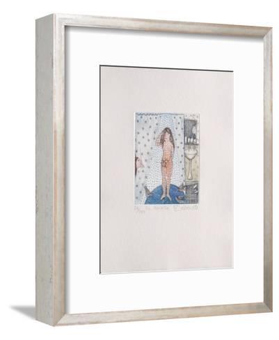 La Douche-Fran?oise Deberdt-Framed Art Print