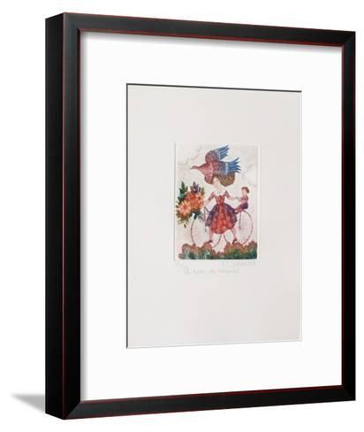 La Robe De Velours-Fran?oise Deberdt-Framed Art Print