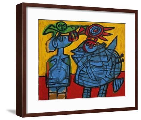 Tribu II-Guillaume Corneille-Framed Art Print