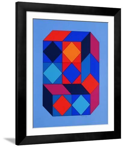 Xico I-Victor Vasarely-Framed Art Print