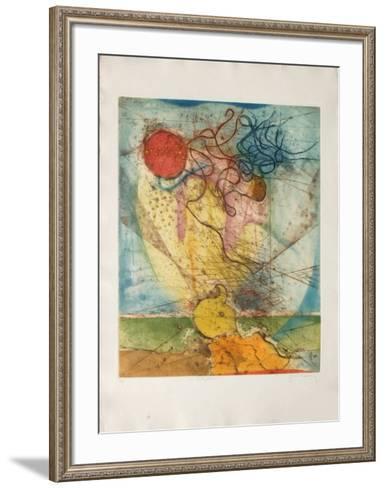 Le Soleil PoIIsson-Ren? Carcan-Framed Art Print
