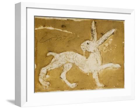 Hare-Alexis Gorodine-Framed Art Print