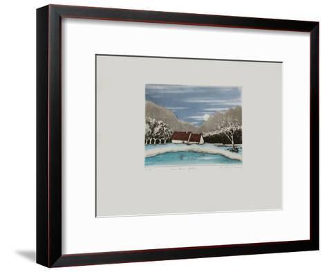 Le Lac Gel?-Annapia Antonini-Framed Art Print