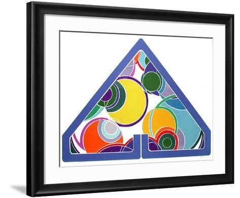 Pyramid-John Levee-Framed Art Print