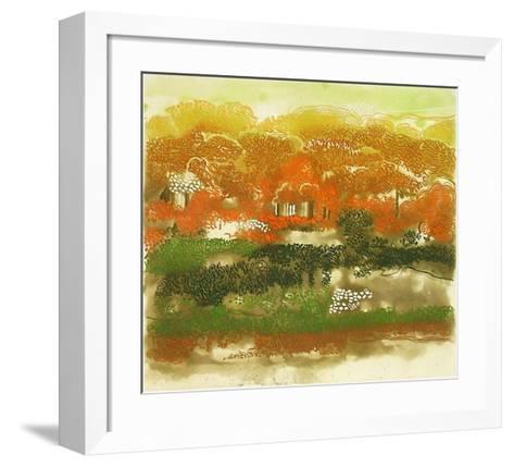 Hillside-Anne Walker-Framed Art Print