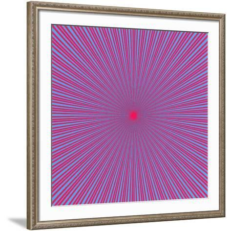 Etoile 3-John Armleder-Framed Art Print