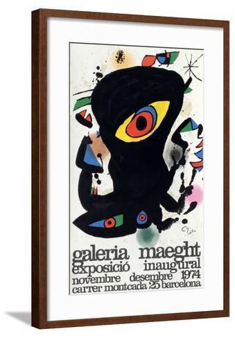 Expo 74 - Barcelona Inaugural-Joan Mir?-Framed Art Print