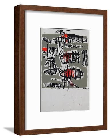 Composition 122-Guillaume Corneille-Framed Art Print