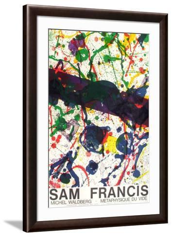 Expo M?taphysique Du Vide II-Sam Francis-Framed Art Print