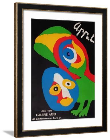 Expo Galerie Ariel-Karel Appel-Framed Art Print