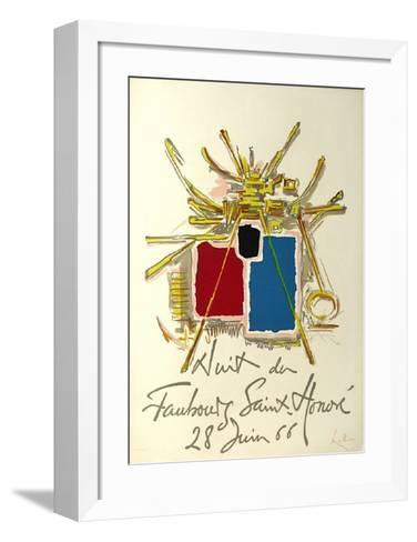 Nuit Du Fg Saint Honor?-Georges Mathieu-Framed Art Print