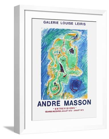 Expo Galerie Louise Leiris-Andr? Masson-Framed Art Print
