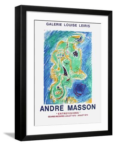 Expo Galerie Des Beaux-Arts-Roger Bissiere-Framed Art Print