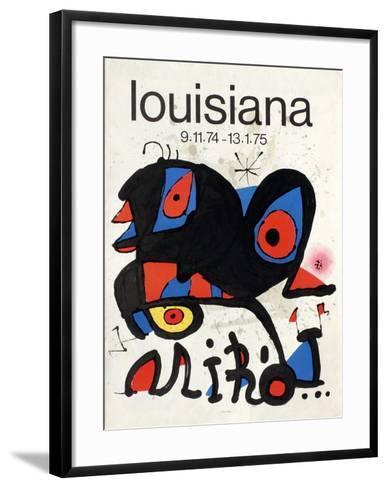 Expo 75 - Louisiana-Joan Mir?-Framed Art Print