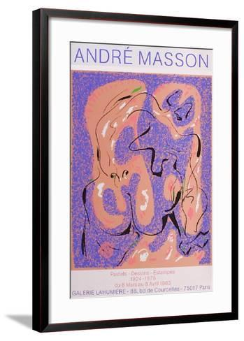 Expo Galerie Lahumi?re-Andr? Masson-Framed Art Print