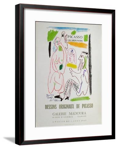Expo 62 - Galerie Madoura-Pablo Picasso-Framed Art Print