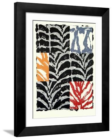 Feuill?e III-G?rard Titus-Carmel-Framed Art Print