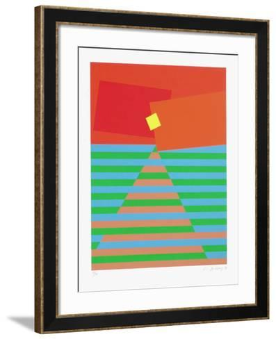 Composition Abstraite-Li Jagyong-Framed Art Print