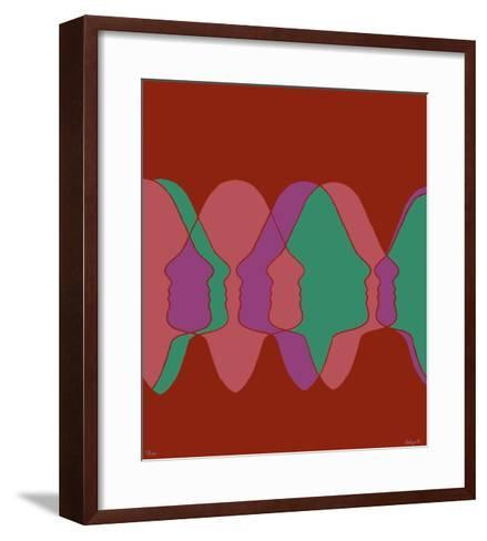 Profils I-Roy Adzak-Framed Art Print