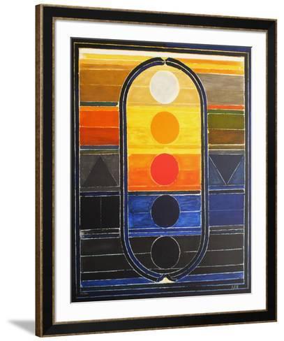 Composition III-Sayed Haider Raza-Framed Art Print