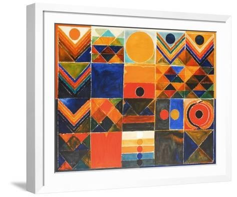 Composition IV-Sayed Haider Raza-Framed Art Print
