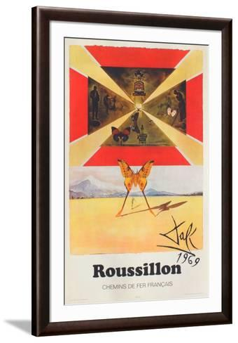 Affiches SNCF: Roussillon-Salvador Dal?-Framed Art Print