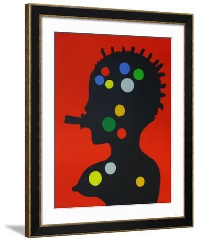 Série Brazil II-Jos? De Guimaraes-Framed Art Print