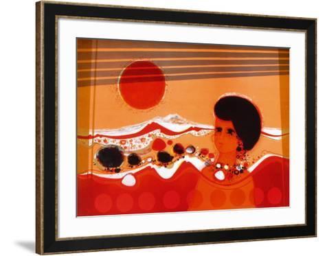 74 Femme Au Soleil-Fr?d?ric Menguy-Framed Art Print