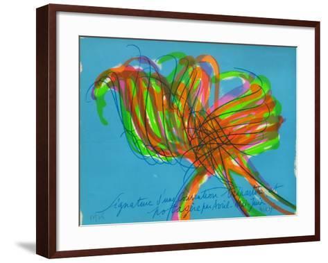 Tr7805 - Signature D'Une Convention Tripartite-Jean Messagier-Framed Art Print