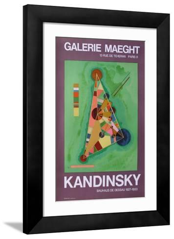 Expo Galerie Maeght-Wassily Kandinsky-Framed Art Print
