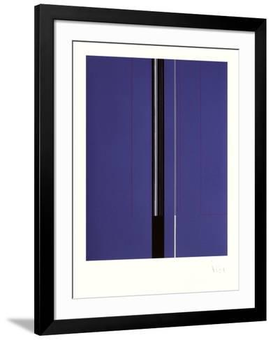 Composition Abstraite VIII-Luc Peire-Framed Art Print