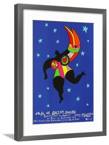 Expo L'Invitation Au Mus?e-Niki De Saint Phalle-Framed Art Print