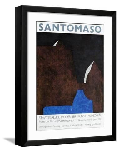 Expo Staatsgalerie M?nchen-Giuseppe Santomaso-Framed Art Print