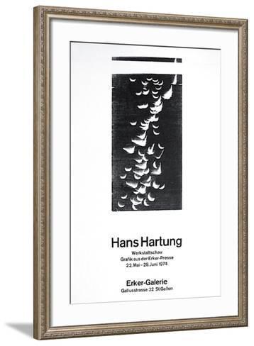Expo Ecker Galerie-Hans Hartung-Framed Art Print