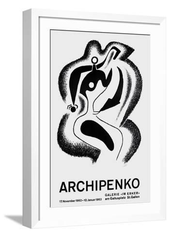 Expo Galerie Im Ecker-Alexander Archipenko-Framed Art Print