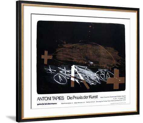 Expo Galerie Biedermann-Antoni Tapies-Framed Art Print