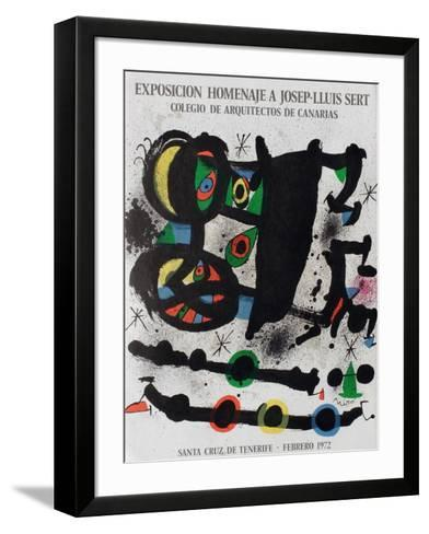 Expo 72 - Homenaje A Josep-Lluis Sert-Joan Mir?-Framed Art Print