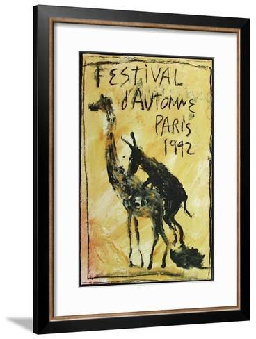 Festival D'Automne-Miquel Barcelo-Framed Art Print