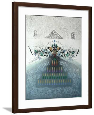 Caresse Des Cimes-Georges Dussau-Framed Art Print