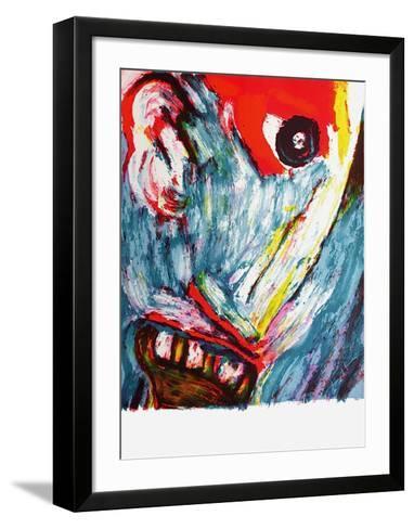 Personnage IV-Bengt Lindstrom-Framed Art Print