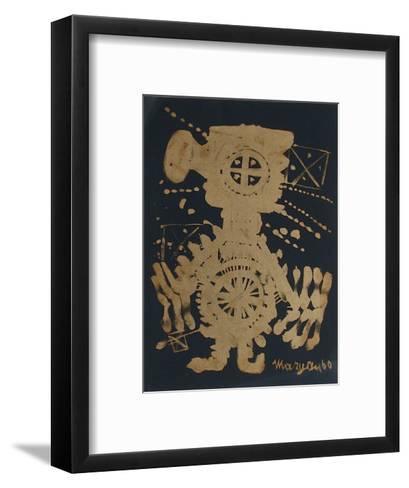 Personnage-Pinchas Maryan-Framed Art Print