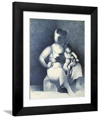 Maternité III-Manolo Ruiz Pipo-Framed Art Print