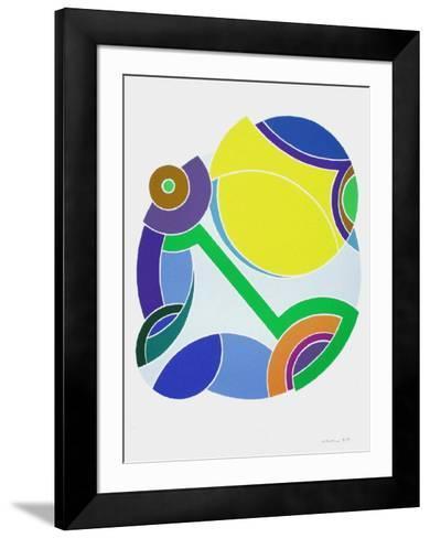 Boulle Jaune Et Bleue-John Levee-Framed Art Print