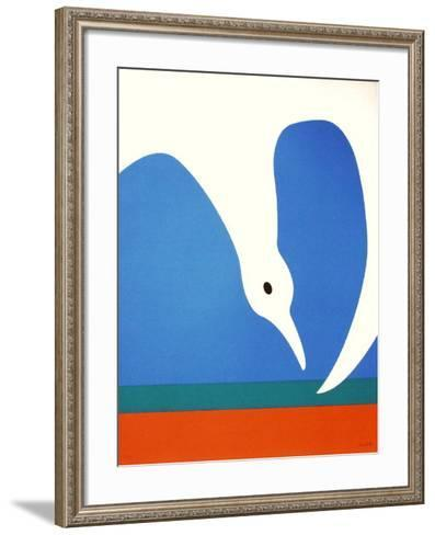 La Mouette III-Jean Coulot-Framed Art Print